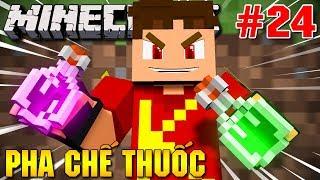 Minecraft Sinh Tồn #24 | CÙNG VAMY PHA CHẾ LỌ THUỐC ĐẦU TIÊN | KiA Phạm (w/ Vamy Trần) thumbnail
