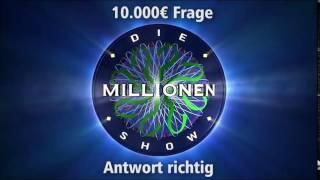 10.000€ Frage - Antwort richtig | Millionenshow Soundeffect