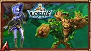 Lords Mobile - How to increase max army size