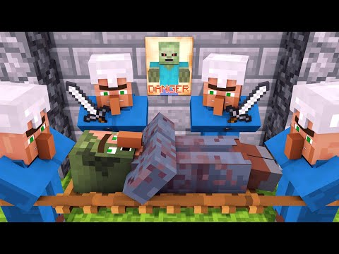Zombie vs Villager Life 2 – Alien Being Minecraft Animation