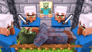 Zombie vs Villager Life 2 - Alien Being Minecraft Animation