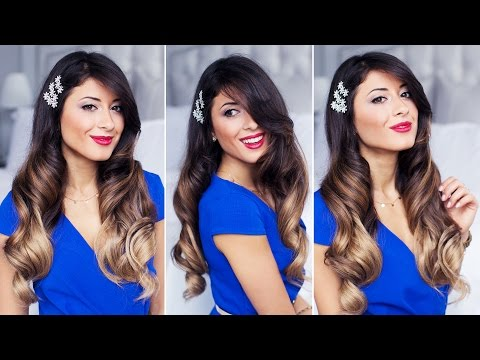 Glam Waves | Holiday Hairstyle