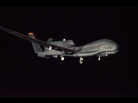 Global Hawk arrives at Avalon Air Show