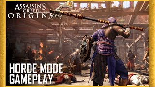Assassin's Creed Origins: Horde Mode Gameplay - Free Update | Trailer | Ubisoft [NA]