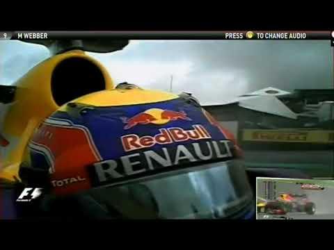 F1 Brazil 2013 (FP3) Mark Webber OnBoard