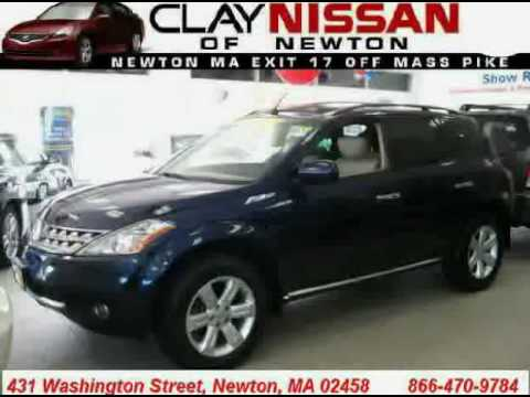 Clay Nissan Newton >> Used Nissan Murano 2007 Located In At Clay Nissan Newton