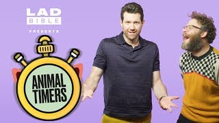 Seth Rogen And Billy Eichner Take On The Animal Timers!