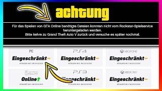 GTA 5 Online ist KAPUTT & funktioniert NICHT mehr!