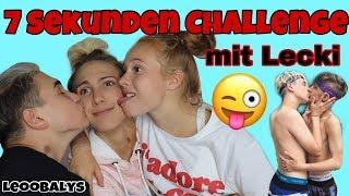 7 Sekunden Challenge mit LECKI😱👨❤️💋👨 | LEOOBALYS