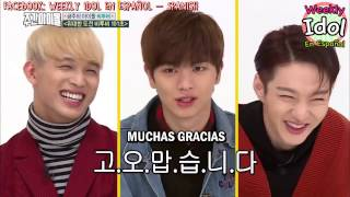 Video [SUB ESPAÑOL] Weekly Idol - BTOB  EP 276 (P1) [HD] download MP3, 3GP, MP4, WEBM, AVI, FLV November 2017