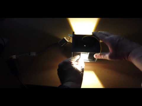 7W LED Dekorative Wandleuchte Für Innen Und Aussen Lichtwinkel Unten Und Oben Veränderbar
