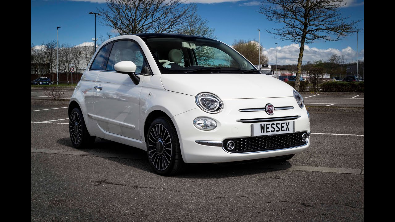 wessex garages newport pre reg fiat 500 lounge 1 2 5dr petrol manual bossanova white. Black Bedroom Furniture Sets. Home Design Ideas