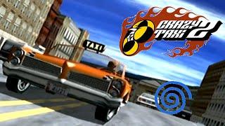 Crazy Taxi 2 playthrough (Dreamcast)