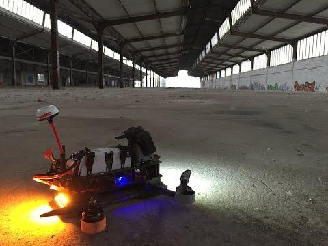 FPV Racing with Cobra 2206 - Altona Hamburg Germany