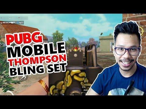 download TOMMY GUN BLING SET - PUBG MOBILE INDONESIA