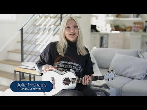 Julia Michaels Signature Ukulele Announcement
