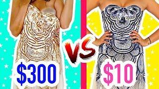 VESTIDO BARATO vs CARO  - CUÁL ES MEJOR??  $5400 vs $200!! | Mariale