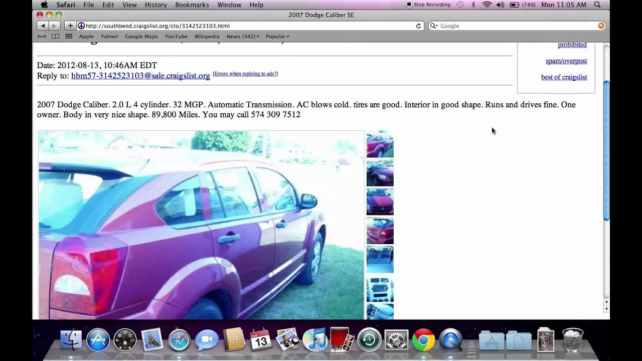 Craigslist michiana michigan used cars trucks and vans cheap options under 2500