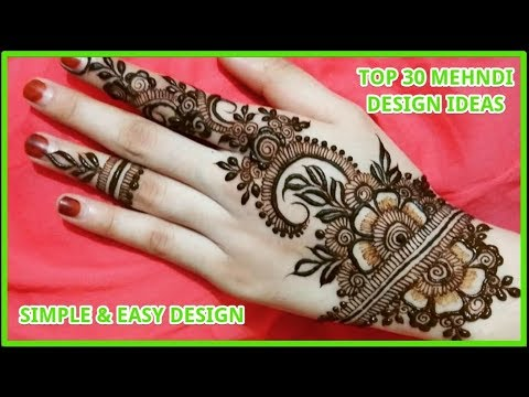 Mehndi Design Art New Simple And Easy Mehndi Henna Art Designs