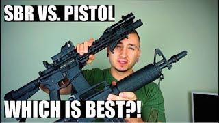 SBR Vs. Pistol?!