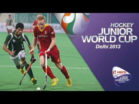 Belgium vs Pakistan - Men's Hero Hockey Junior World Cup India [10/12/2013]