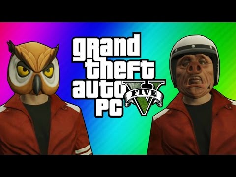 GTA 5 Heists #4 - Streme Spoats & Pacific Rim Job! (GTA 5 Online Funny Moments) [Part 1]