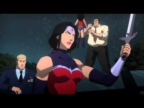"Justice League: War -- WonderWoman ""Embrace Your Truth"""
