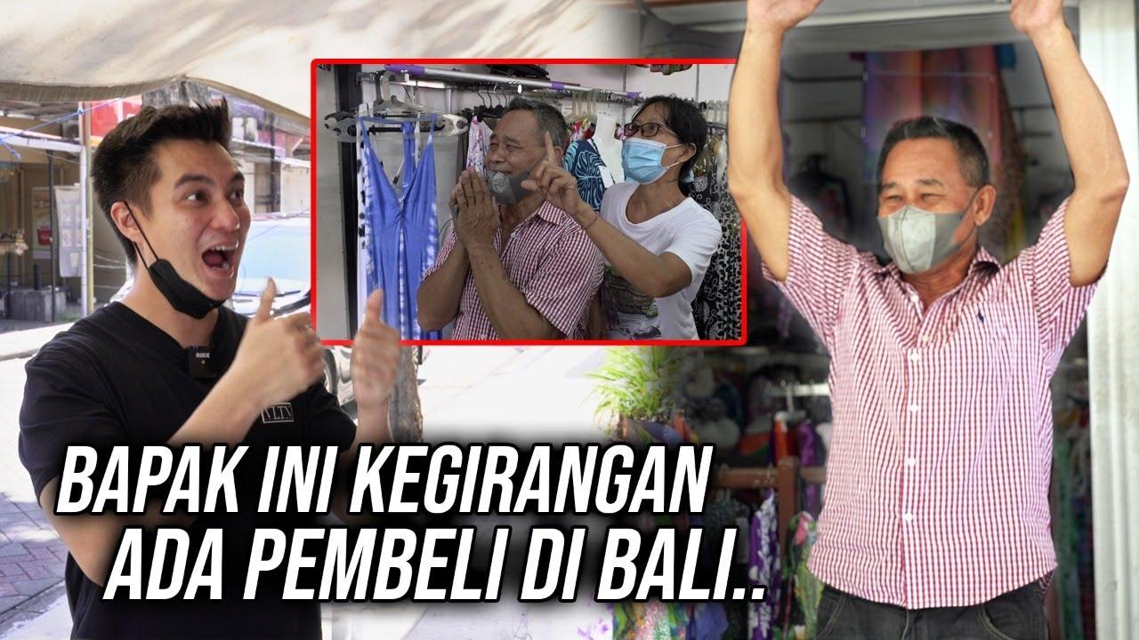 KEADAAN BALI KAYA KOTA MATI 😭.BENER INI BALI❓#Borong Semua Barang di Legian !! Bantu Pedagang Disana