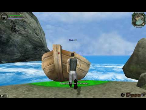 The Legend of Pirates Online ALPHA Gameplay (Mic was set low, sorry.)