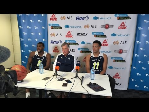 Arizona's Kadeem Allen talks Australia experience following loss to Boomers