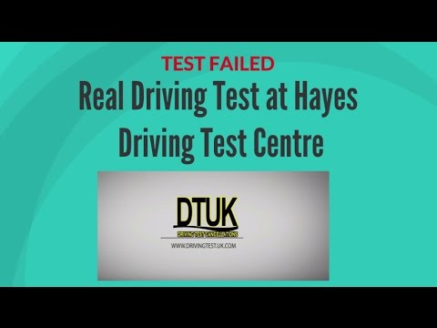 Hayes Driving Test Route 2 | DTC-UK | Driving Test  UK
