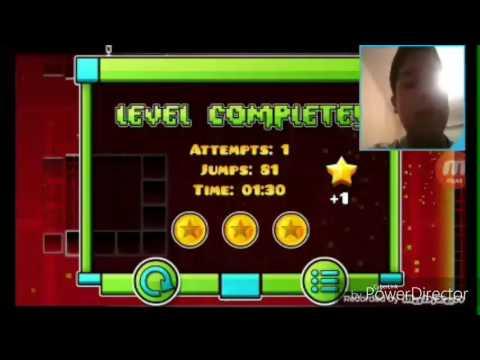 manuel gamer juega geometry dash