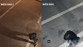 Watch Dogs 2 vs Watch Dogs | The evolution of watch dogs