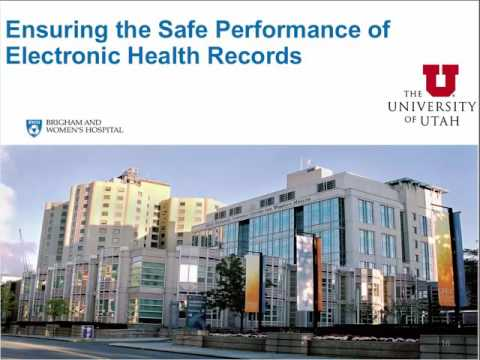 Assessing Safety Risks Associated with EHRs: National Web Conference