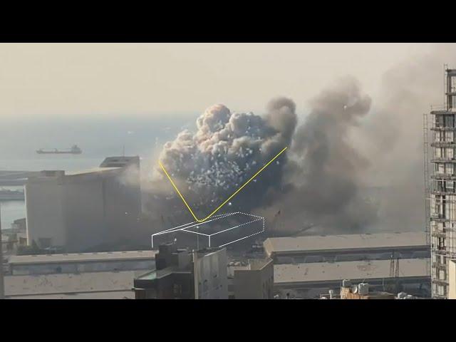 Explosion de Beyrouth : le désastre reconstitué
