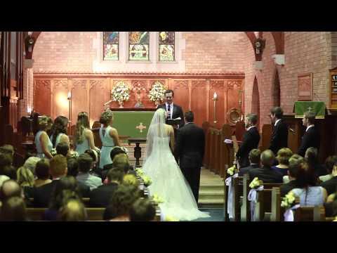 Tessa and Anthony wedding ceremony