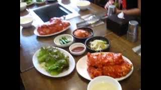 South Korea -  Nami Island - 18 - Bbq Chicken 1