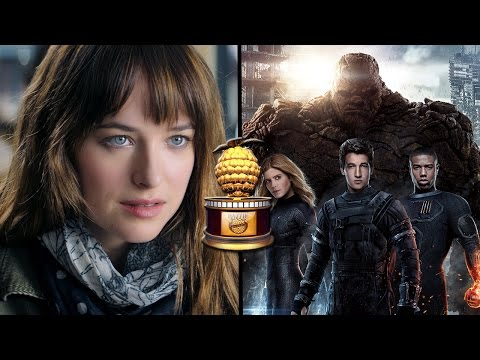 Fantastic Four & Fifty Shades Among Top Razzie Award Nominations