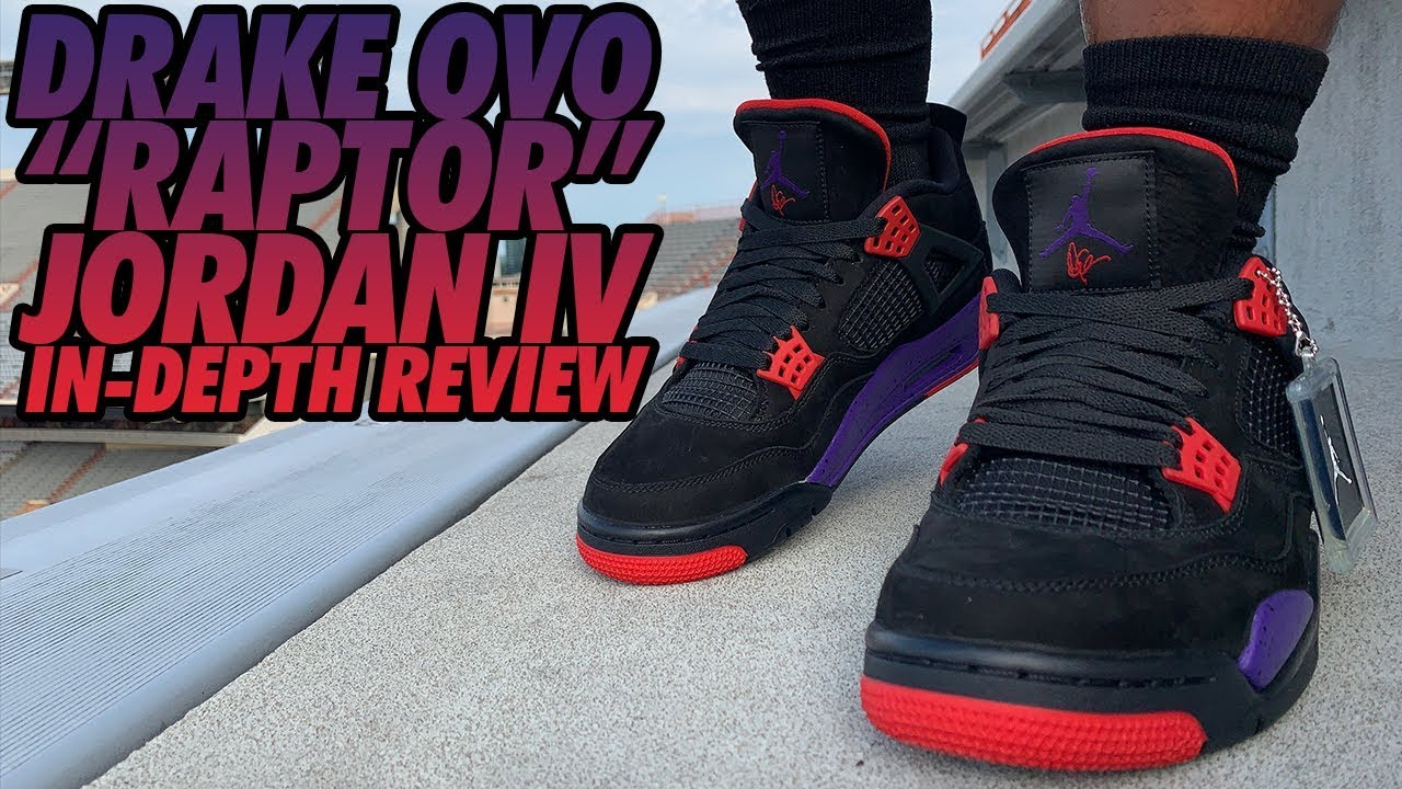 finest selection 79239 5cc6f DRAKE OVO JORDAN 4s REVIEW & UNBOXING!