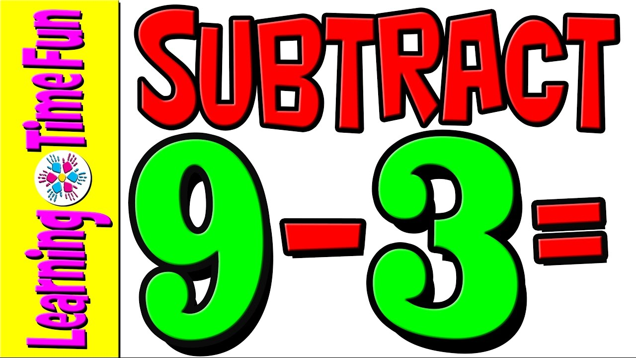 Subtract | Subtraction by 3 | Math for Kids | Math Help | Basic Math ...