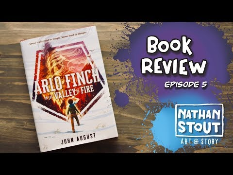 Book Review - Arlo Finch in the Valley of Fire - Book 1