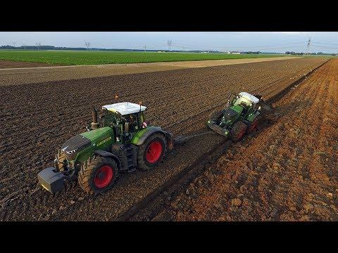 Deep ploughing with 900 HP! | *NEW* Fendt 1050 Vario & 939 Vario S4 | Van Werven