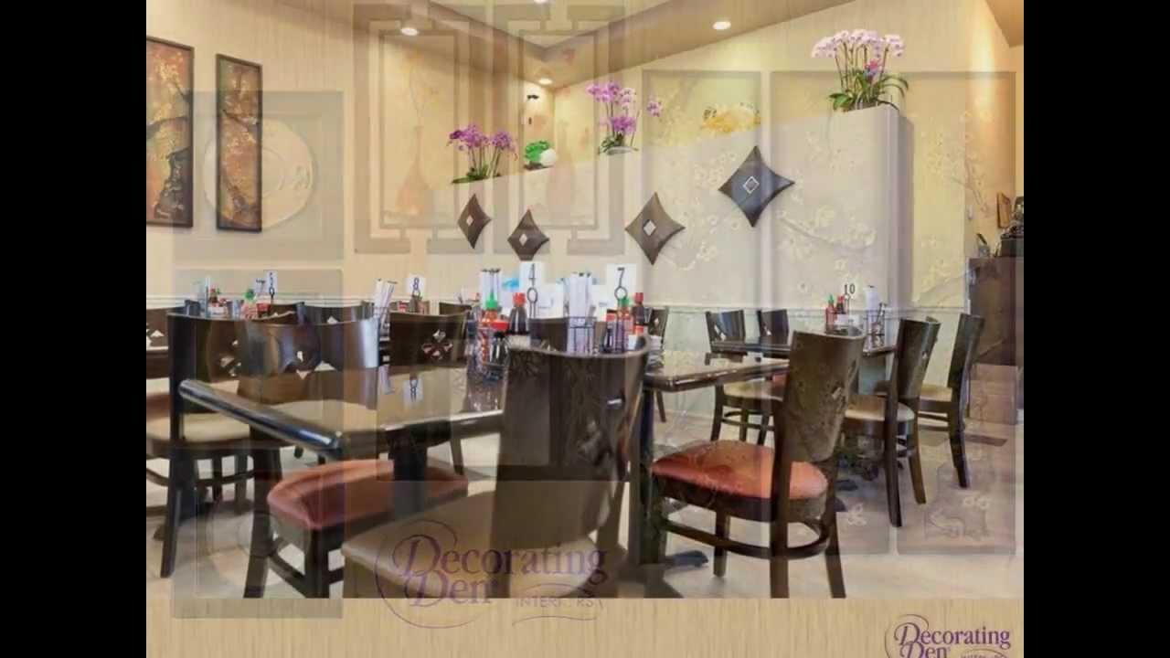 Decorating Den Interiors  Design Project For Pho 24 Restaurant, San Jose, CA    YouTube