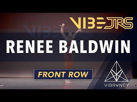 Renee Baldwin   Vibe Jrs 2020 [@VIBRVNCY Front Row 4K]