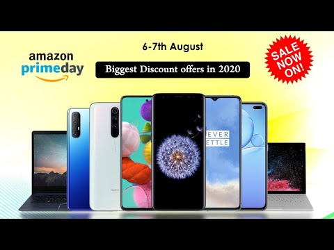 Amazon Prime Day Sale 2020 – Biggest Discount offers on Mobiles, Accessories and electronics