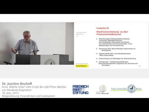 Die große Finanzkrise - Joachim Bischoff @ FU Berlin