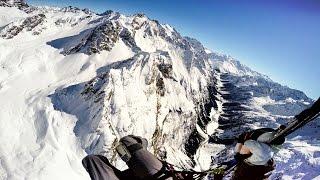 WINTER PARAGLIDING Austria/Tirol/Pitztal - GIN ATLAS X-ALPS - Mario