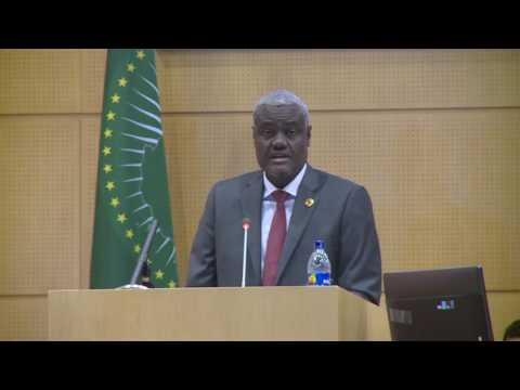 Discours du Président de la CUA S.E. M Moussa Faki Mahamat, à la 34ème Session Ordinaire du COREP