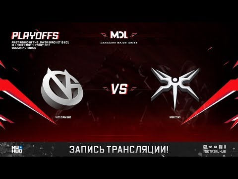 Vici Gaming vs Mineski, MDL Major, game 3 [Lex, Inmate]