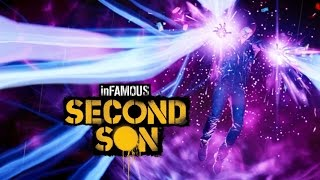 Infamous Second Son - First Boss Battle (PS4 Slim)